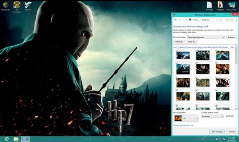 themes for windows 7 harry potter harry potter windows theme download