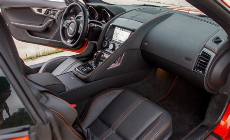 Jaguar F Type R Interior by 2015 Jaguar F Type R Coupe Interior Photo