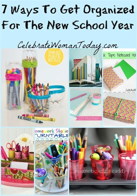7 Ways To Organize by Get Ready For School With These 7 Ways To Get Organized