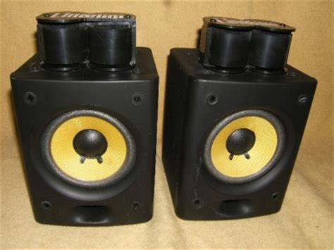 radio shack 40 5037 rca bookshelf stereo speakers w