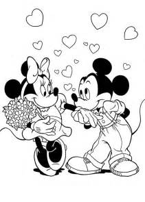 disney coloring pages for disney valentines coloring pages