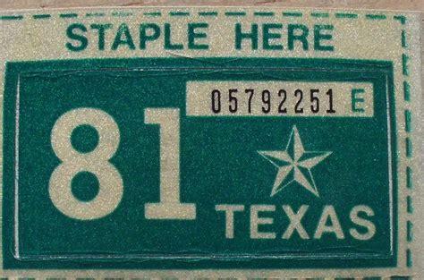 License Plate Sticker Renewal