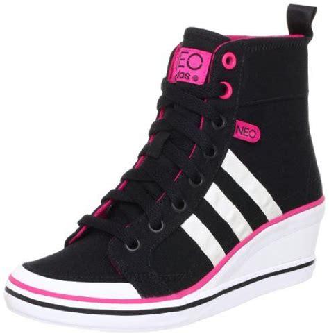 adidas high top wedge sneakers adidas sneaker keilabsatz wedge damen weneo bball hightop