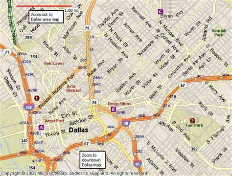 dallas on a map of texas dallas map toursmaps