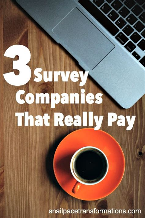Survey Companies That Pay - 3 survey companies that really pay