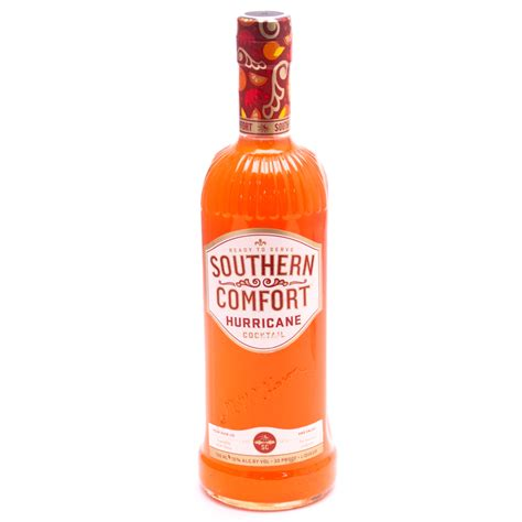 southern comfort proof southern comfort hurricane cocktail 30 proof 750ml