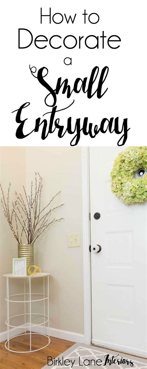how to decorate entryway table best 25 small entryway tables ideas on small