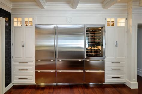 Floor And Decor Outlet Locations integrated refrigerator transitional kitchen leslie