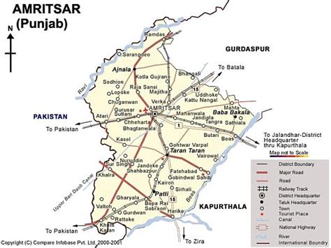 amritsar maps amritsar geography and cultures