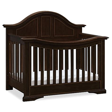 Million Dollar Baby Crib Mattress Buy Million Dollar Baby Classic Tilsdale 4 In 1 Convertible Crib In Rich Walnut From Bed Bath