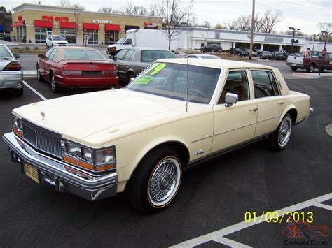 79 Cadillac Seville For Sale by 1979 Cadillac Seville 4 Door V8 Automatic Spotless Clean