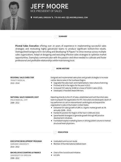 Cv Templates 20 Options To Improve Your Cv Visualcv Resume Templates