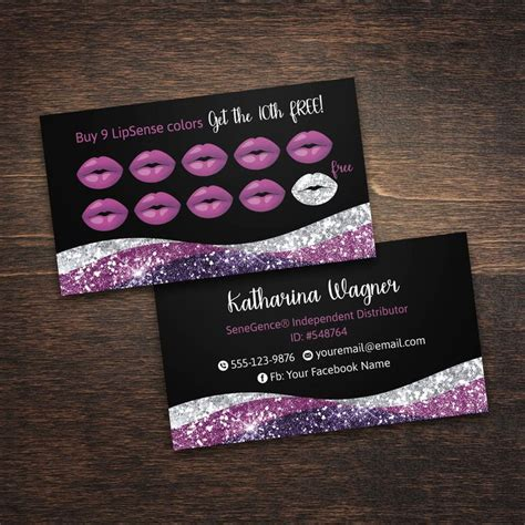 Best 25 Lipsense Business Cards Ideas On Pinterest Lip Sense Lip Sense Distributor And Lipsense Business Card Template