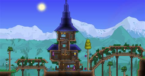wizard house terraria wizard s tower terraria pinterest terraria and video games