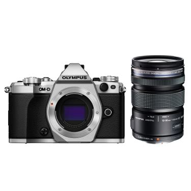olympus om d e m5 mark ii (silver) and 12 50mm lens