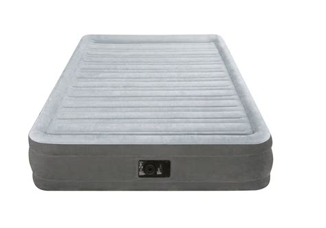 intex dura beam comfort plush mid rise air bed mattress airbed 67767e ebay