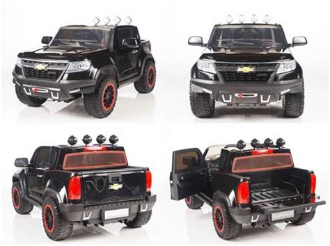 chevrolet power wheels 12v chevy colorado style truck 4x4 power ride