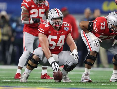 ohio state bench nfl draft ohio state c billy price suffers injury on