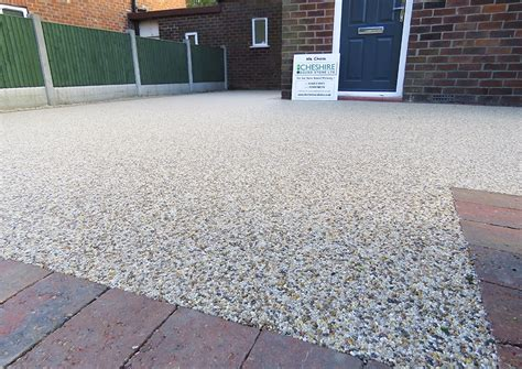 resin bonded natural stone hermitage driveways resin driveways cheadle hulme cheshire bound stone