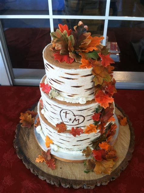 Fall Wedding Cakes by Beautiful Bridal Fall Wedding Cake Ideas