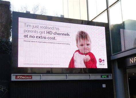 Meme Advertising - virgin media using success kid meme for marketing