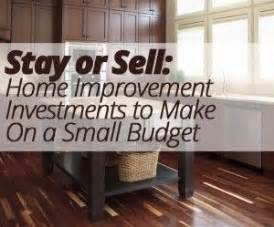 stay or sell home improvement investments to make on a