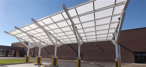 Commercial Canopy Custom Glass Hotel Commercial Canopies
