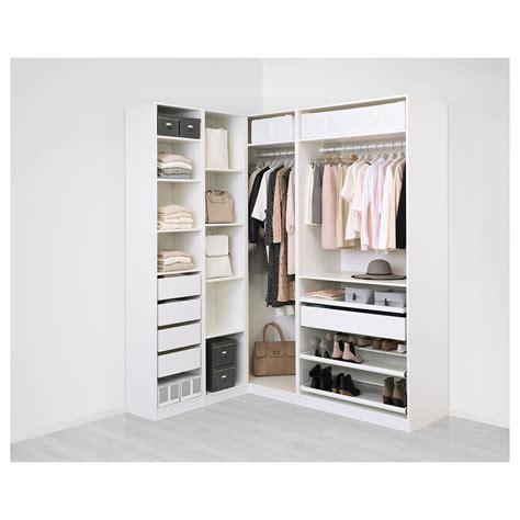 planner guardaroba ikea pax corner wardrobe white flisberget light beige 160