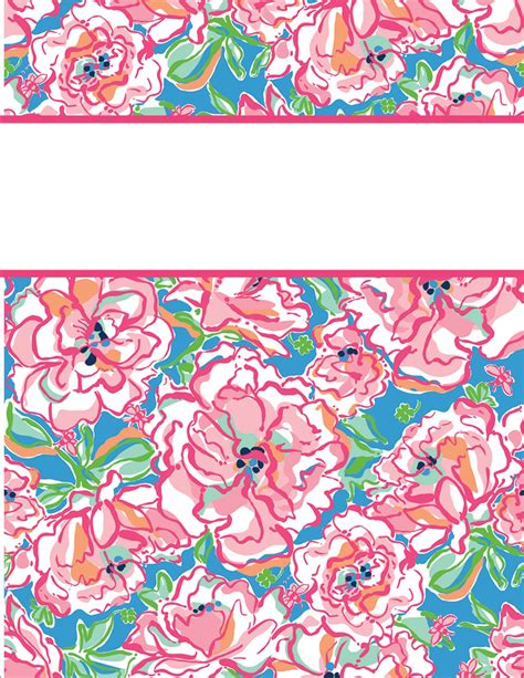 printable binder covers free my cute binder covers happily hope