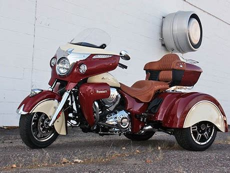 indian motorcycle to develop a trike? motorbike writer