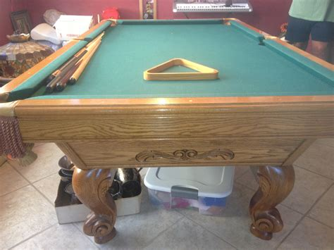 billiards forum help with model brunswick oak 8 circa