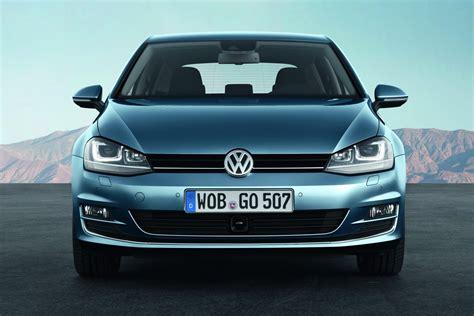 volkswagen front all 2013 volkswagen golf revealed autotribute