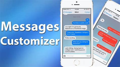 change layout messages iphone messages customiser customize ios messages app with