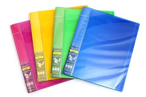 Kokuyo Novita Clearbook P N20 kokuyo novita alpha expandable clear book a4 blue colors filing system and the o jays