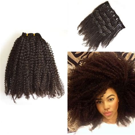3a curly hair extensions 4a 4b 4c 3a 3b 3c malaysian clip in human hair