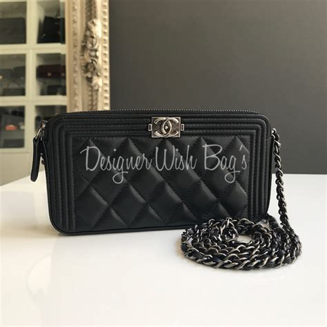 Hiltons Chanel Clutch Purses Designer Handbags And Reviews by Chanel Boy Clutch With Detachable Chain