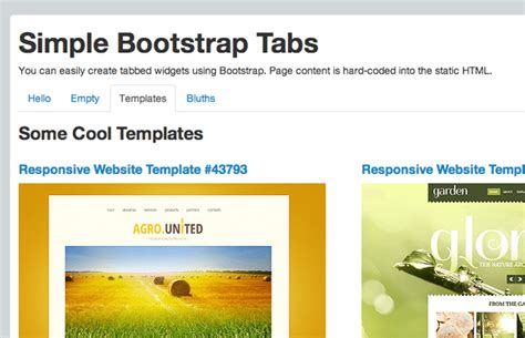 How To Build Tabbed Content Boxes Using Twitter Bootstrap Monsterpost Bootstrap Tab Template