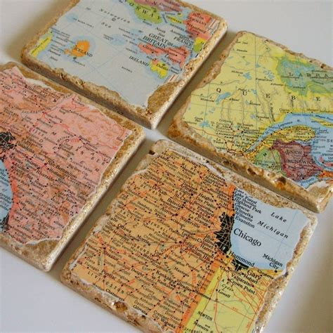 Decoupage Map - 17 best images about map decoupage on vintage