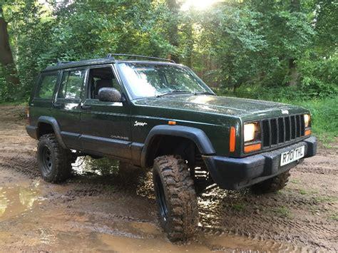 manual jeep jeep 2 5 td manual xj 4x4 road green laning