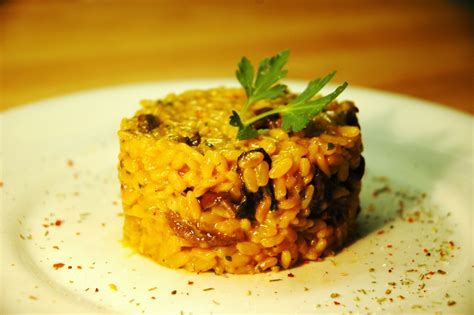 apple risotto pkd recipes 187 saffron mushroom apple risotto