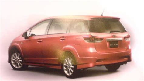 Toyota Wish Toyota Wish 2009 Brochure Leak Jdm