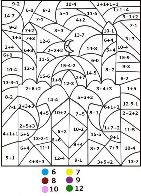 math coloring pages algebra math coloring pages by number 343 color by number for