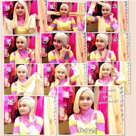 tutorial hijab untuk kebaya tutorial hijab turban pesta www imgkid com the image