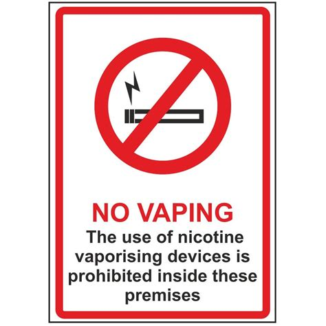 the sign of the no vaping signs smoking vaping signs