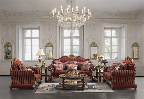 Traditional Style Furniture Living Room Luxury Upholstered Formal Living Room Furniture Traditional Sofa Seat Homey Design Hd 257