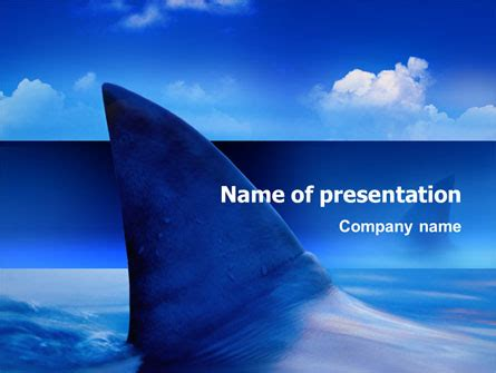 shark presentation template for powerpoint and keynote