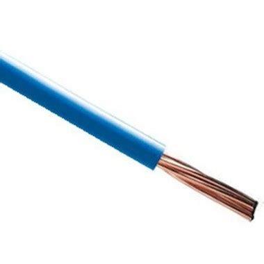 Fil Electrique Bleu by Fil 233 Lectrique Rigide Ho7vr 10 178 Bleu Nexans Prix Au