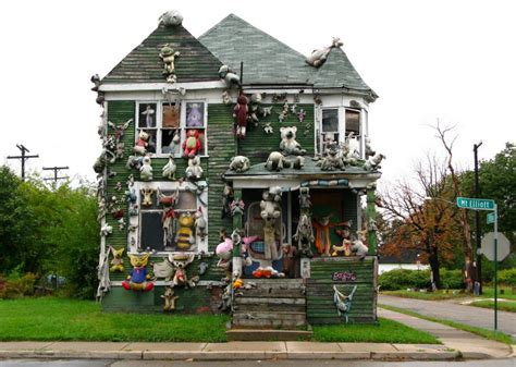 Decorating Your First Home by The Heidelberg Project Brings Color Art And Controversy