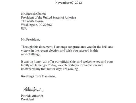 carta formal em ingles presidente do fla envia carta parabenizando obama pela reelei 231 227 o globoesporte