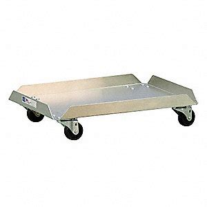 100 lb food grainger approved food service dolly 100 lb 6lgj2 99262 grainger